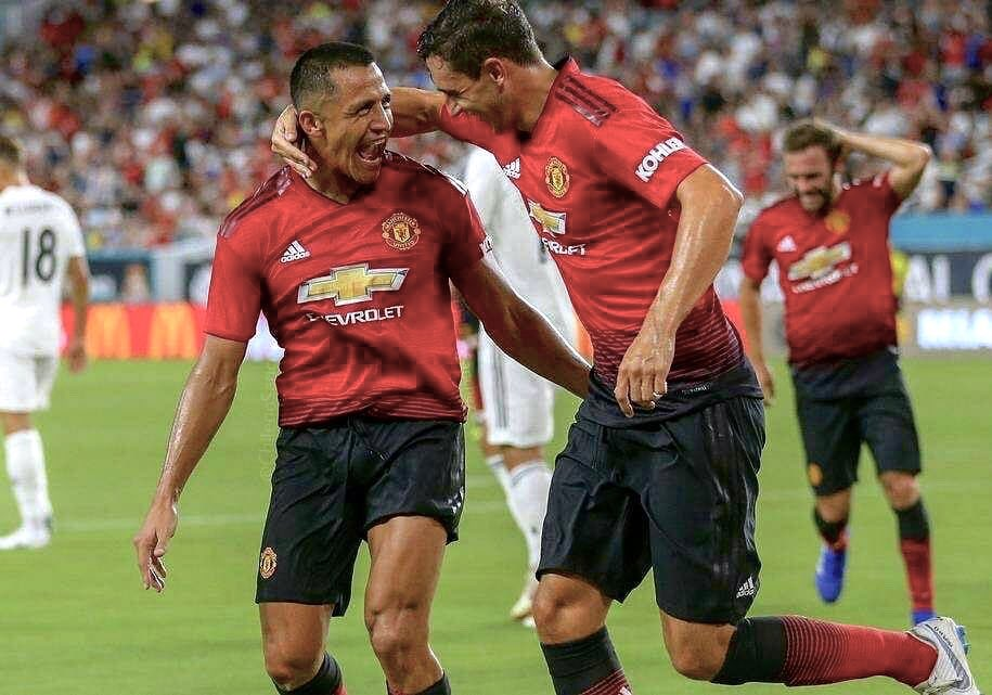 Good way to finish our tour!! Now is time to back home!! Thanks for the support!! Vamos amigo 💪 @Alexis_Sanchez @ManUtd