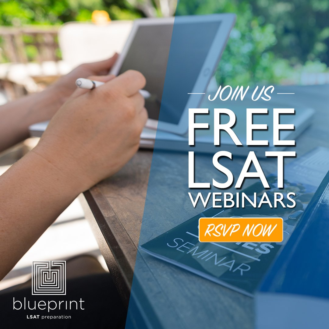 Blueprint lsat prep blueprintlsat twitter we have some amazing upcoming lsat webinars join us next tuesday for an introductory lsat seminar and a webinar covering the logicgames section malvernweather Gallery