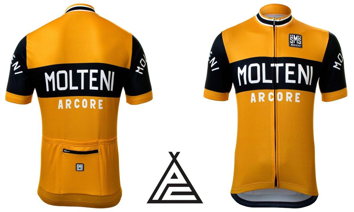 Retro Molteni Arcore Cycling Jersey