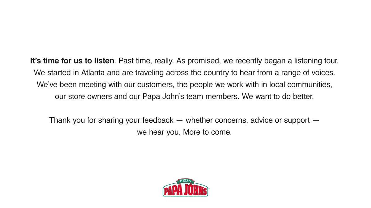 Papa John\'s Pizza (@PapaJohns) | Twitter