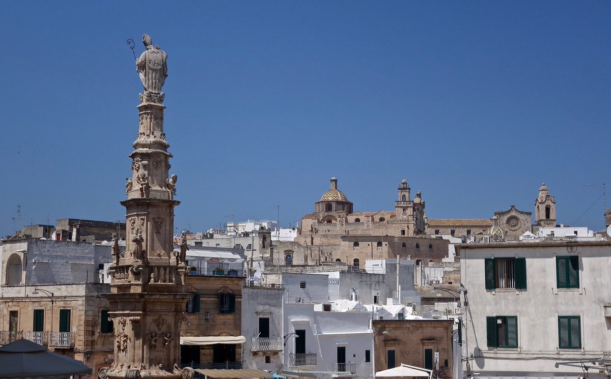 #Italy #Ostuni #Italian food is even better in the South and the cities even more architecturally majestic. Happy #Summer More on Italy: https://www.youtube.com/BigSmall_travel?sub_confirmation=1… #architecture