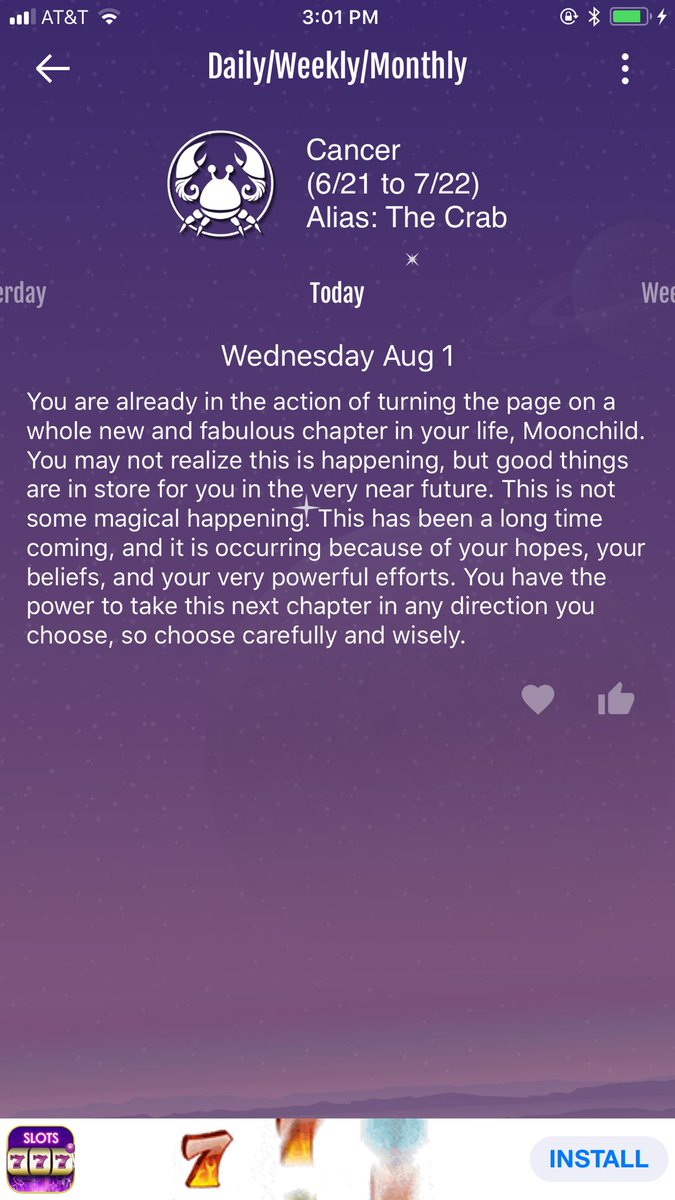 cancers love horoscope for today