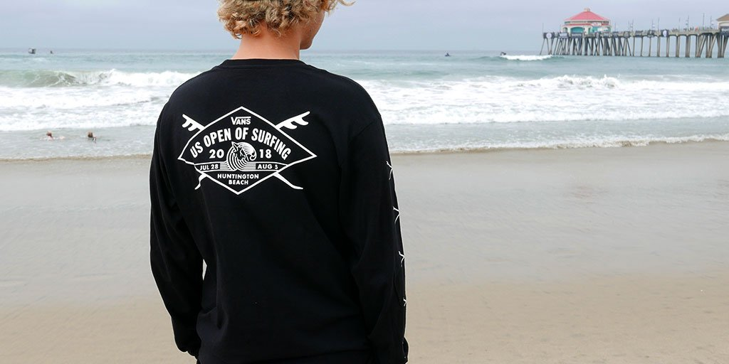 30a7e4196b Hit the beach in style with our 2018  VANSUSOPEN collection. Check it out  at our pop up shop in Huntington Beach