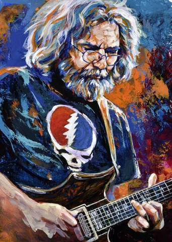 """Magic is what we do, music is how we do it.\"" Happy Birthday Jerry Garcia!"