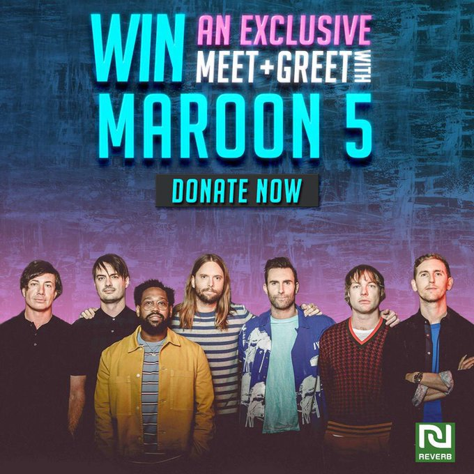 Maroon 5 twitter photos on twiends would you like to win a trip to boston to meet maroon5 at their show a 10 donation to reverb will earn you 100 entries to schmooze with maroon 5 m4hsunfo