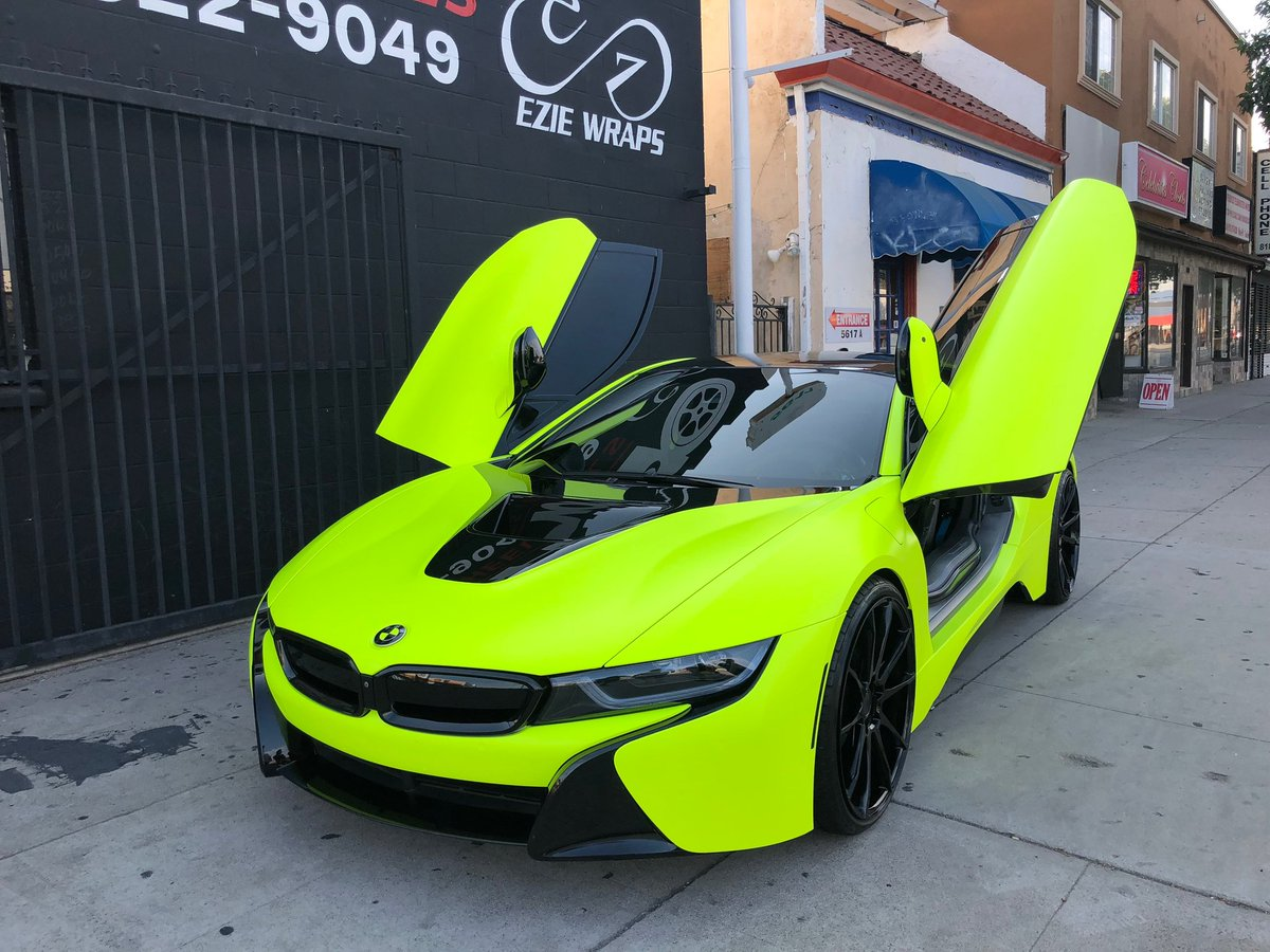 Metrorestyling Com On Twitter Bmw I8 Wrapped By Eziewraps In
