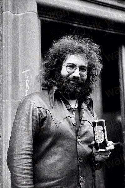 Happy Birthday American singer-songwriter and guitarist Jerry Garcia (August 1, 1942 August 9, 1995)