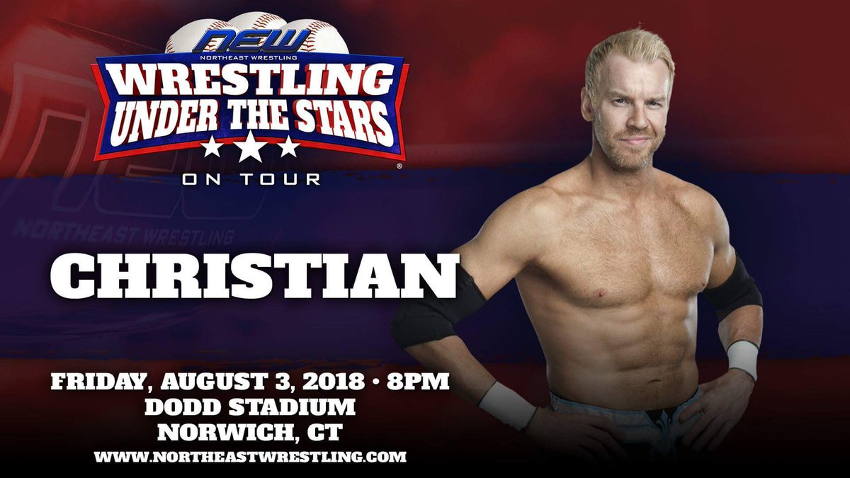 I'll be signing this Friday August 3rd @newwrestling1 all the info is here northeastwrestling.com