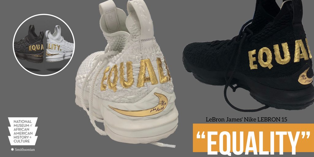 b2d530f01f6 - KingJames LeBron James donates Equality sneakers  http   s.si.edu 2M0D0Be   GameChangerspic.twitter.com tC9upwMcAr