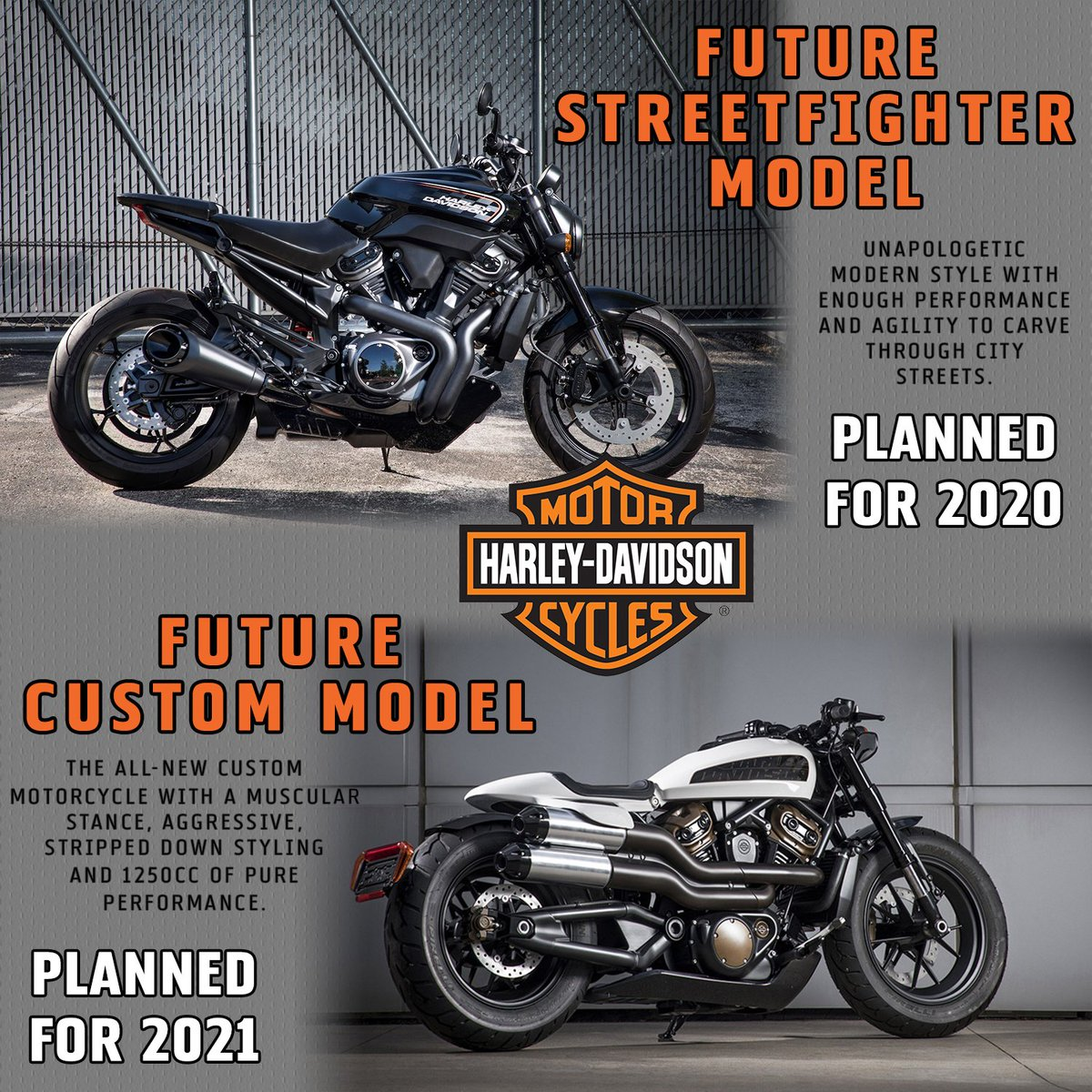 Hdofmadison On Twitter Check Out The Future Streetfighter Model Planned For 2020 Future Custom Model Planned For 2021 Harleydavidson Released A Couple Days Ago On Moreroadstoharleydavidson Https T Co Ber71dsvli Harley Hdmc