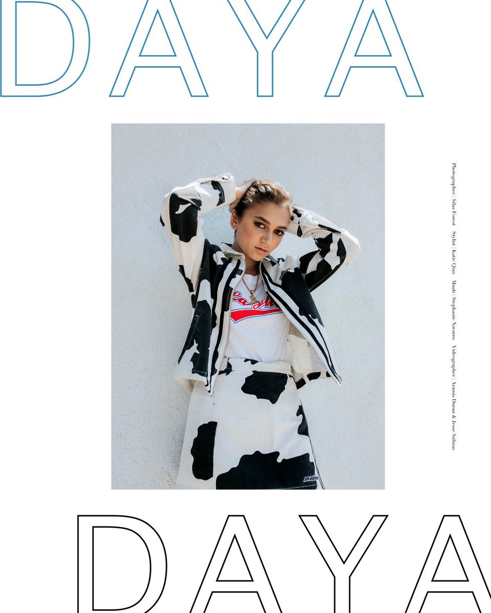 Daya On Twitter So Excited To Be On The Cover Of Nude Mag  E2 9c A8 F0 9f 8d 92 Https T Co 3kbneafs0s