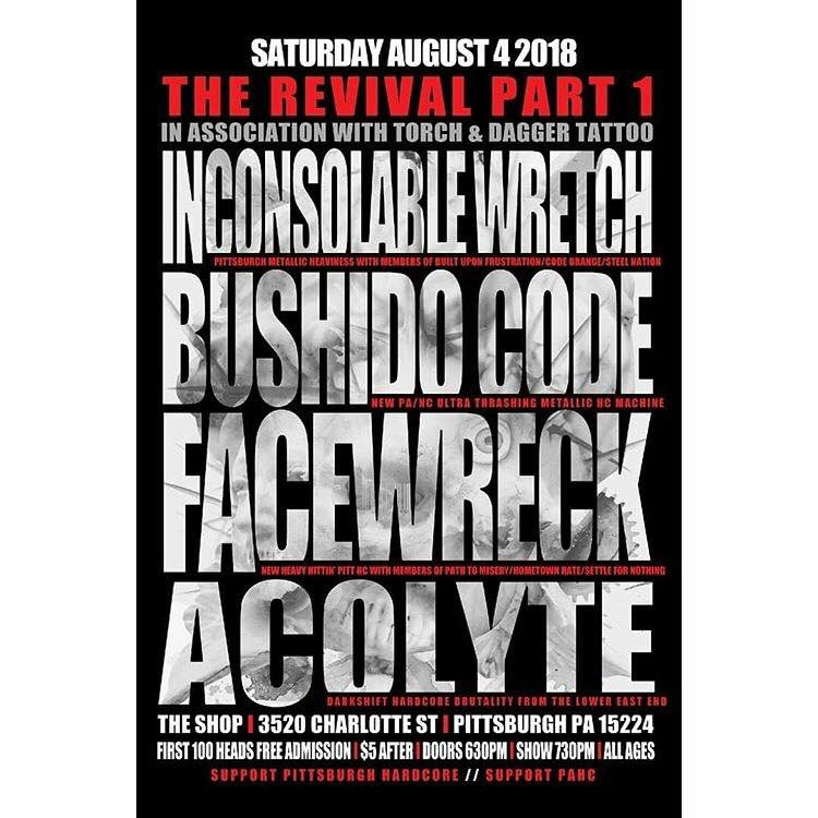 This Saturday we revive Pittsburgh Hardcore with this complete ass beating BANGER.  SUPPORT #pittsburghhardcore #pahcpic.twitter.com/tbHCvmglR5