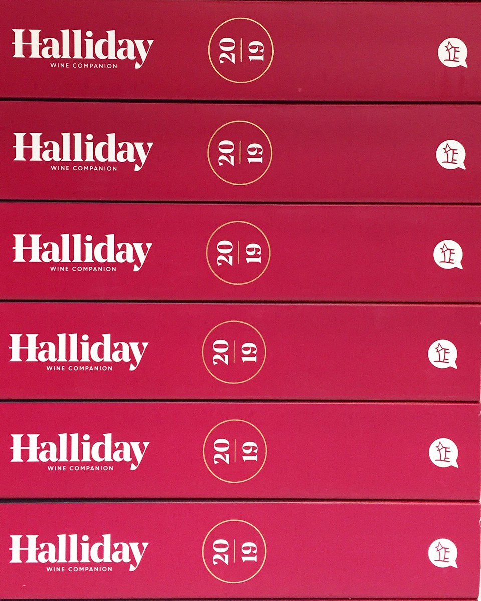 """The 2019 Halliday Wine Companion is here! • Also available - 2019 Special Vintage Release Collection including the 2019 Wine Companion as well as """"Varietal Wines"""" and """"A Life in Wine"""" for just $60! (See second photo) • #JamesHalliday #HallidayWineCompanion2019"""