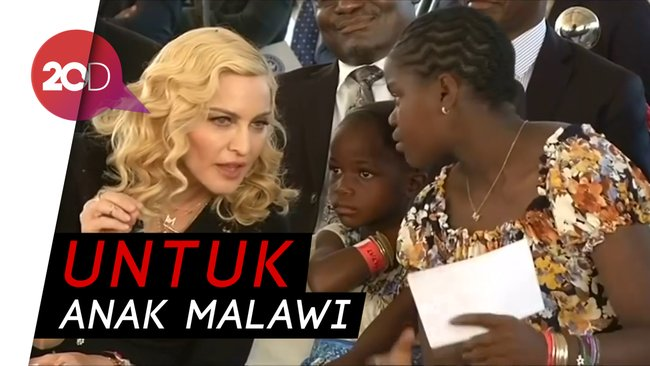Ulang Tahun ke-60, Madonna Galang Dana untuk Anak-anak Malawi. Happy birthday