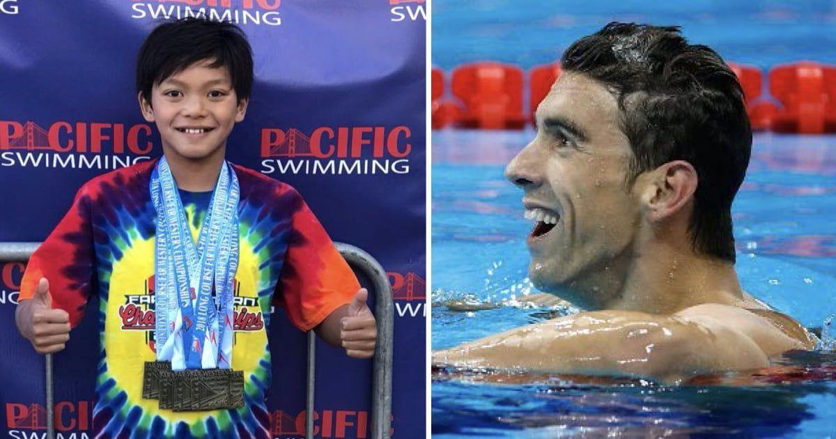 Michael Phelps grote lul