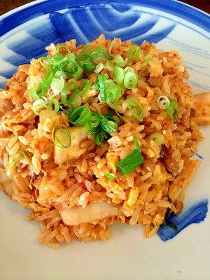 納豆 チャーハン の 作り方