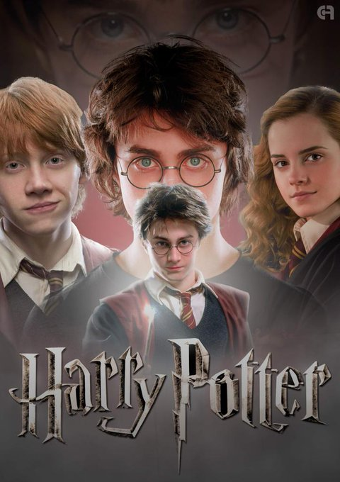 Belated Happy birthday Mr Harry Potter...