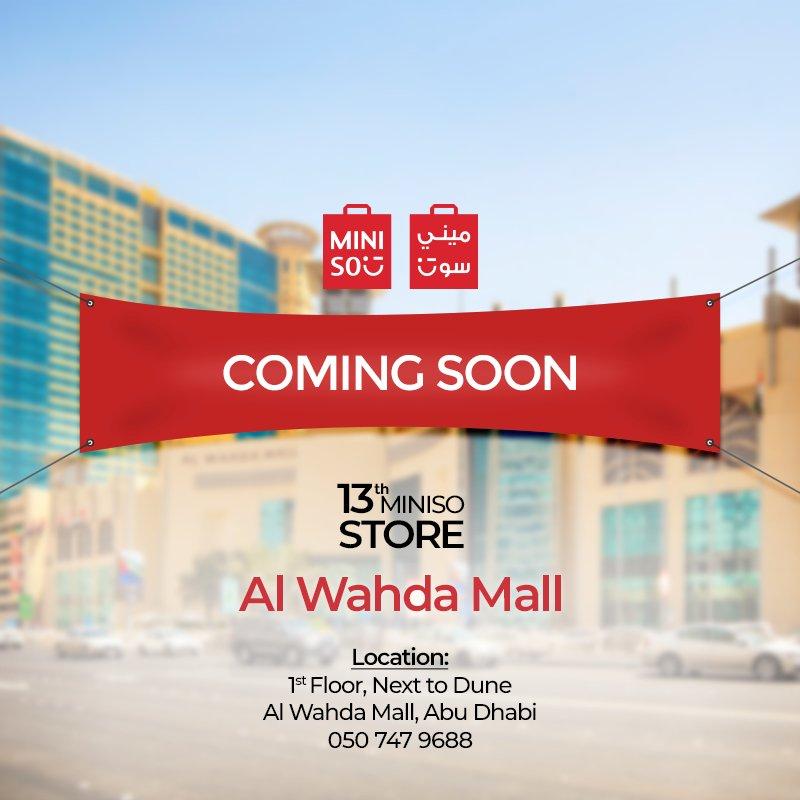 Miniso uae minisouae twitter our 13th store is opening soon minisouae miniso dubai love abudhabi sharjah solutioingenieria Gallery