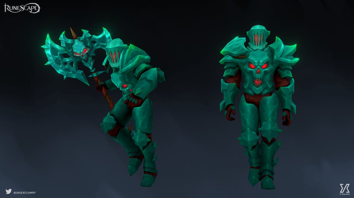 Runescape On Twitter Behold The Upgraded Necronium Armour Getting