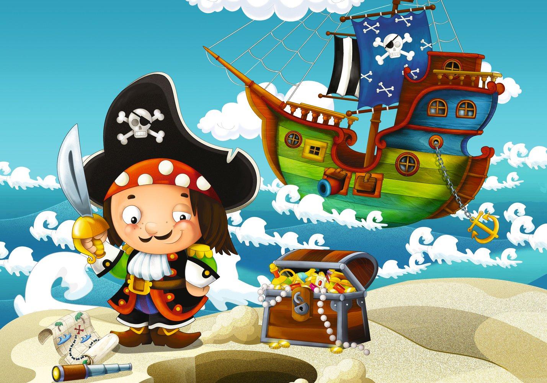 Ждуном днем, картинки пиратов для детей