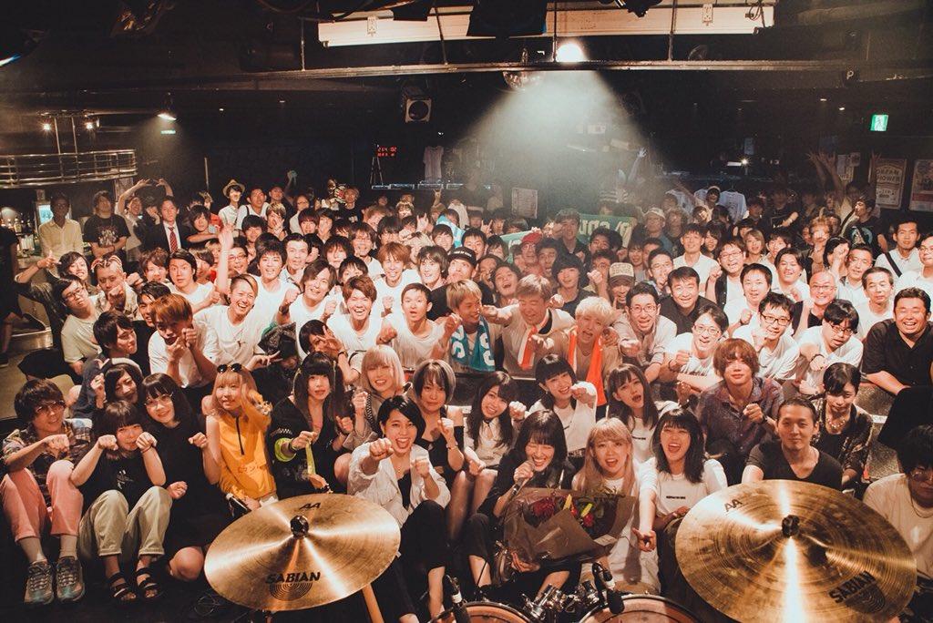 2018/08/01@渋谷eggman猛暑革命的絶対領域宇宙で一番幸せでした。ありがとう#二十一祭