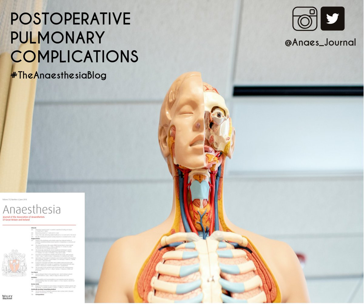 Anaesthesia On Twitter Postoperative Pulmonary Complications Lung