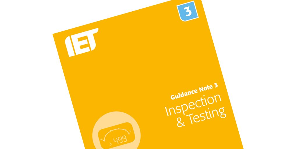 Surprising Iet Wiring Matters On Twitter Now Available Guidance Note 3 Gn3 Wiring 101 Ariotwise Assnl