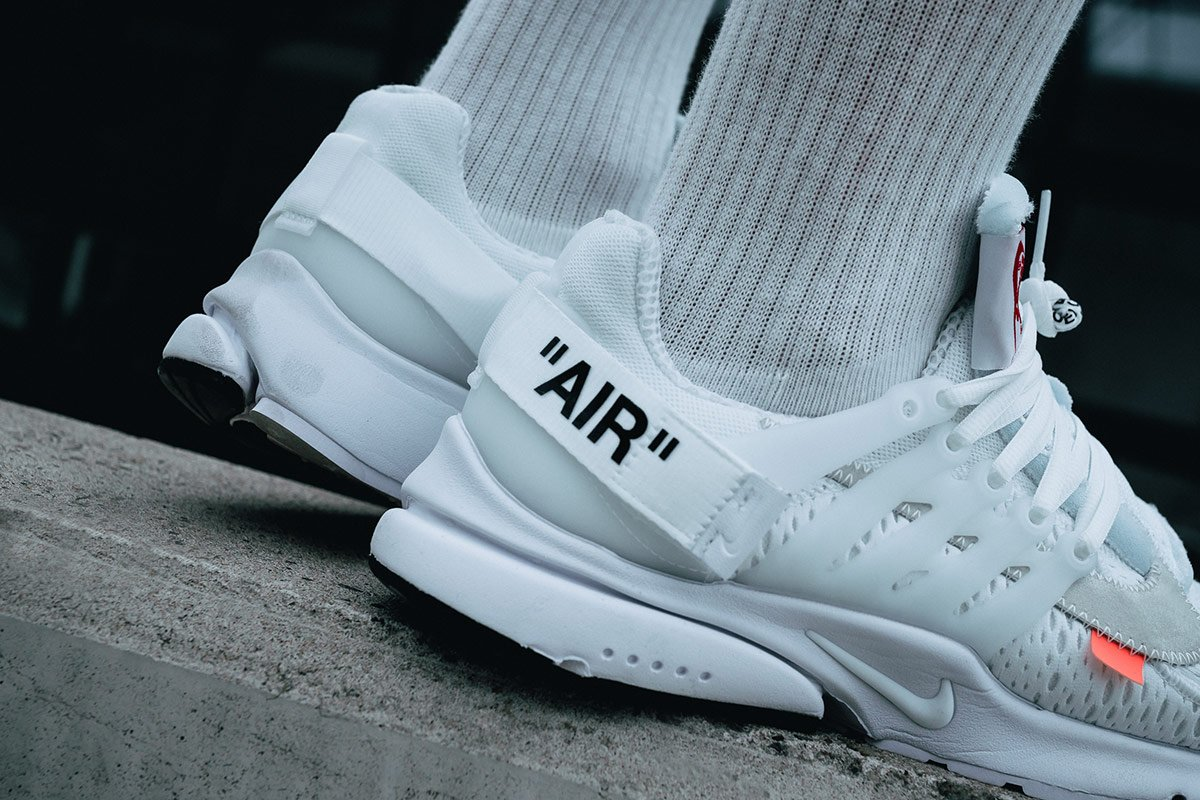 71e0f588b30d84 The white OFF-WHITE x Nike Air Presto is already available to cop at GOAT
