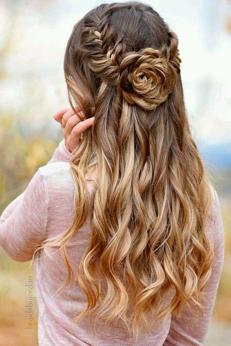 Beautiful Hairstyles. #Fashionhair #hairstylist #longhair #hairs #curly  #hairoftheday #hairup #hairstyle #instagramanet #braid #haircut ...