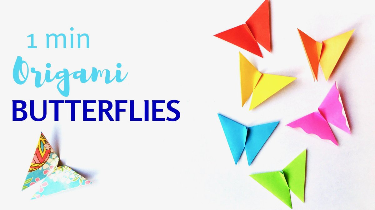How to make a paper butterfly - Easy Paper Butterfly Origami ... | 675x1200