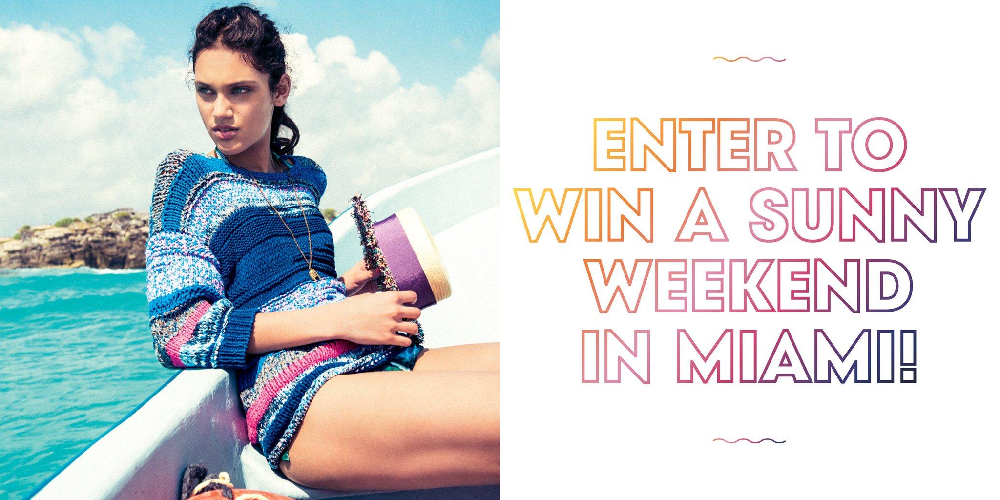 Win a free trip to Miami! https://t.co/GgYCQ52CMy https://t.co/xPO6JPdxQE