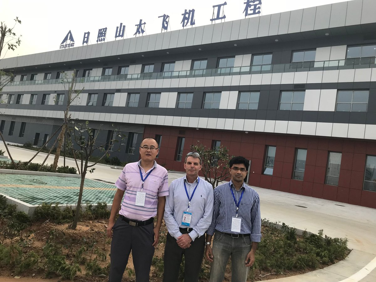 Typhoon season won't get in the way of our #RusadaProjects team in China!