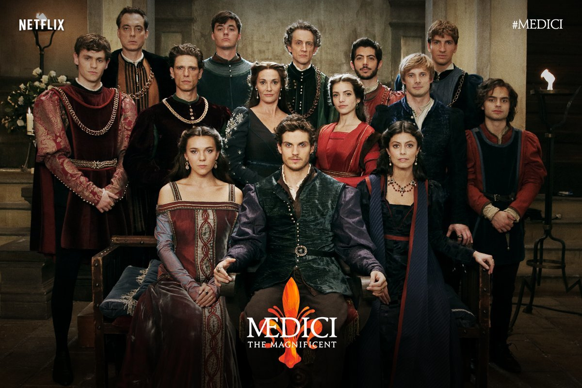 Welcome to the Medici! We can't wait for the highly anticipated second season of @MediciSeries starring @sebdesouza - coming soon to @netflix #medici2 #renaissance #netflix #comingsoon