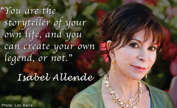 Happy birthday to Chilean-American writer and women\s rights activist Isabel Allende!
