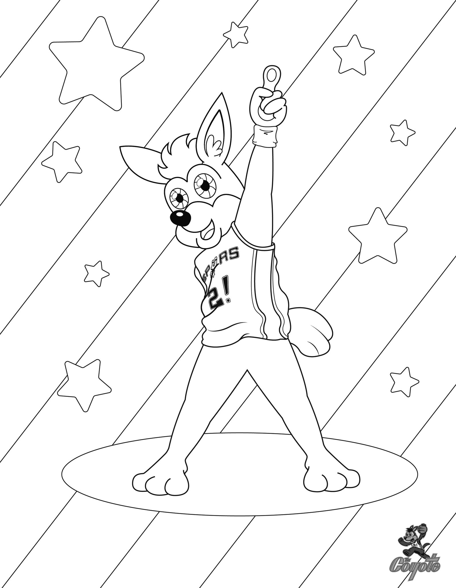 It's #NationalColoringBookDay with @SpursCoyote! ▫️ Save ▪️ Print ▫️ Color ▪️ Share https://t.co/C6bfxVhnqb