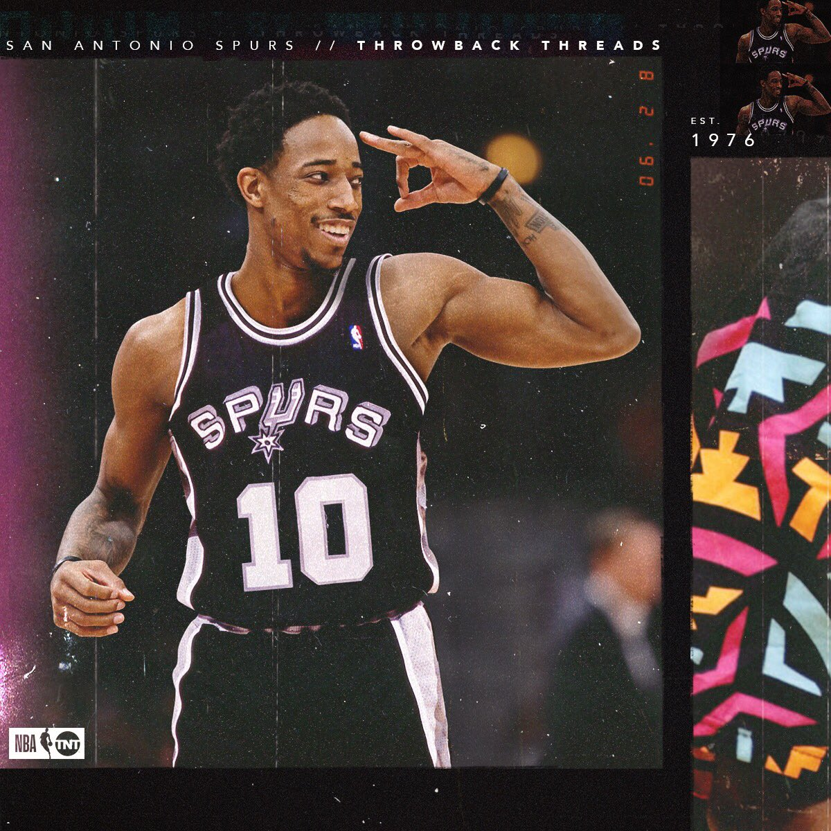 .@DeMar_DeRozan looks to start the next chapter in his new city. ��  Throwback Threads �� #TBT https://t.co/9M00fiQM7b