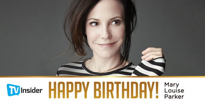 We often wonder what happened to Nancy Botwin from Happy birthday, Mary-Louise Parker.
