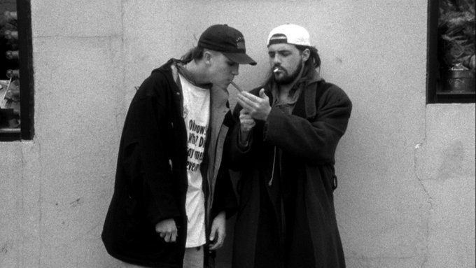 Happy Birthday to Silent Bob himself, - what is your favorite Kevin Smith movie?