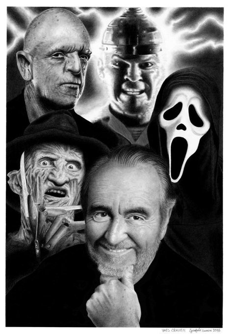Happy birthday to horror master and Freddy Krueger creator Wes Craven!