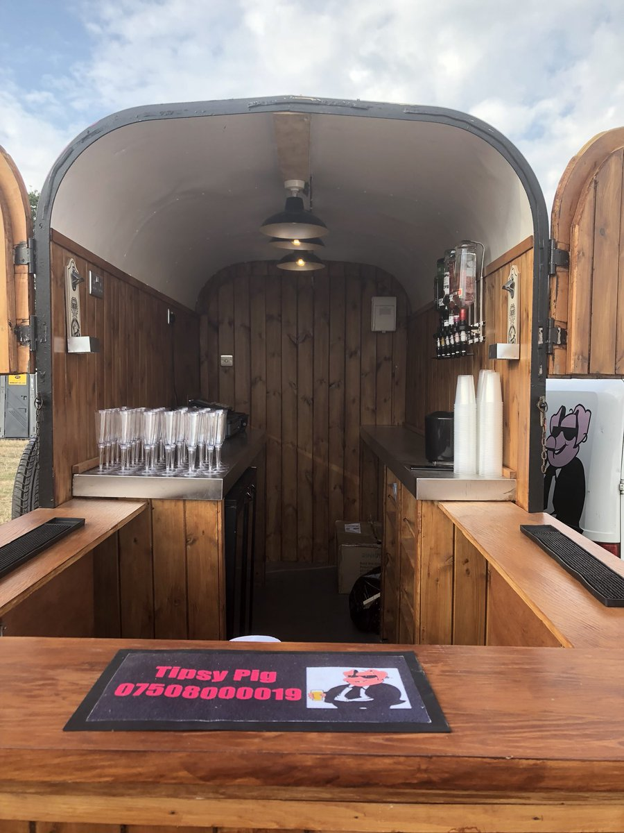 Tipsy Pig Mobile Bar در توییتر Lack Of Time Forces Sale Rice Trailer Horsebox Twin Axle Converted To High Standard 3 Double Sockets Dimmer Lights Viewing Recommended Can Be Used For A