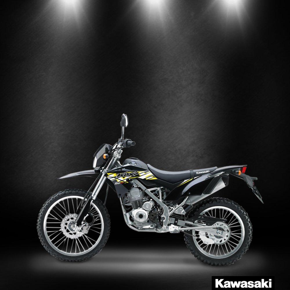 Admirable Kawasaki Indonesia On Twitter The Klx150Bf Offers A Slim Inzonedesignstudio Interior Chair Design Inzonedesignstudiocom