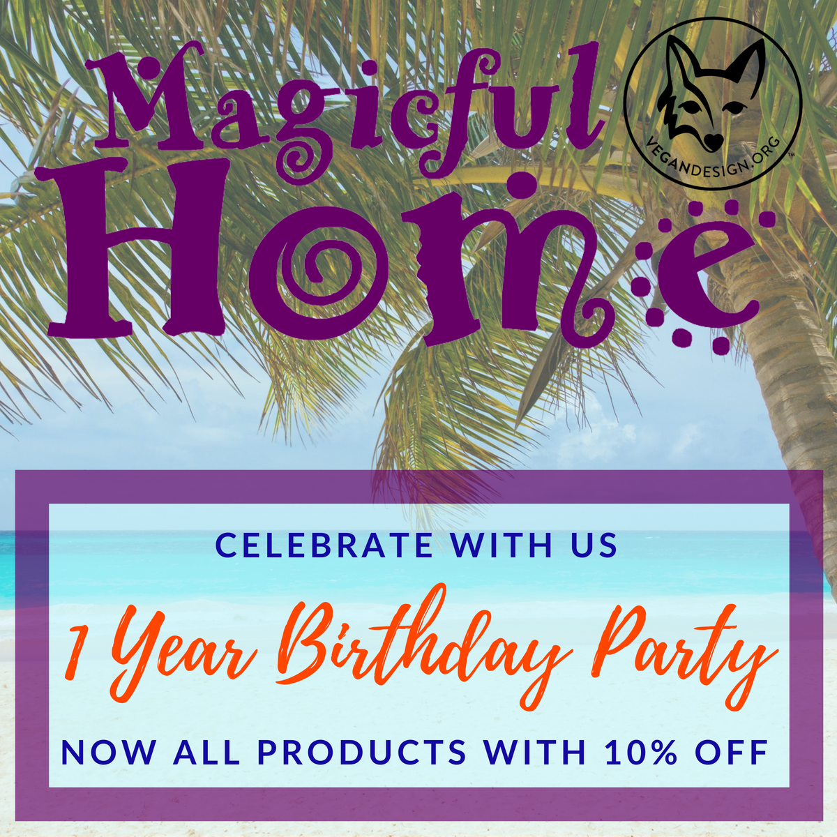 Magicful Home On Twitter Celebrate With Us 1 Year