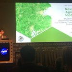 Our incoming masters student/previous undergraduate @Jer_em_EE capped his summer internship off with a presentation at @NASA HQ about the #NASADEVELOP New England Agriculture and Food Security Project