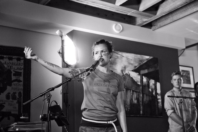 HIP30 x TONIGHT @Iskwe covers The Tragically Hip 8PM, @CBCMusic #TSSHip30 Photo