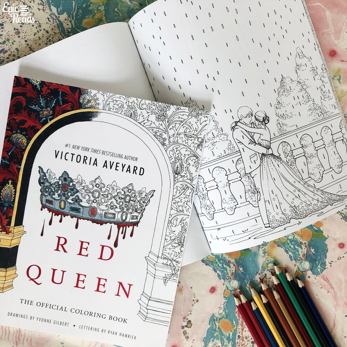 Epic Reads On Twitter One For Red Queen And One For The Selection