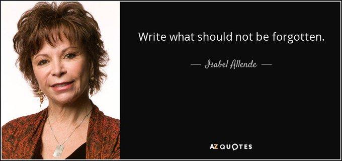 Happy Birthday to Chilean Isabel Allende!