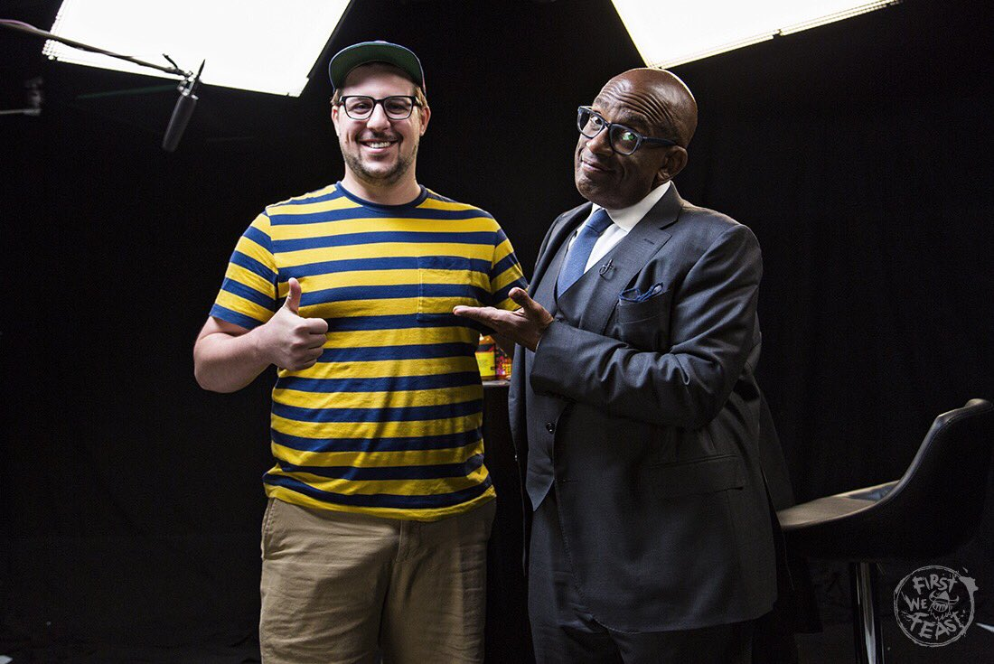 4d9f7b9804a Extreme Heat with a chance of Al Roker. Check out the newest episode of   firstwefeast Hot Ones to see  alroker roast me like chestnuts over an open  fire.