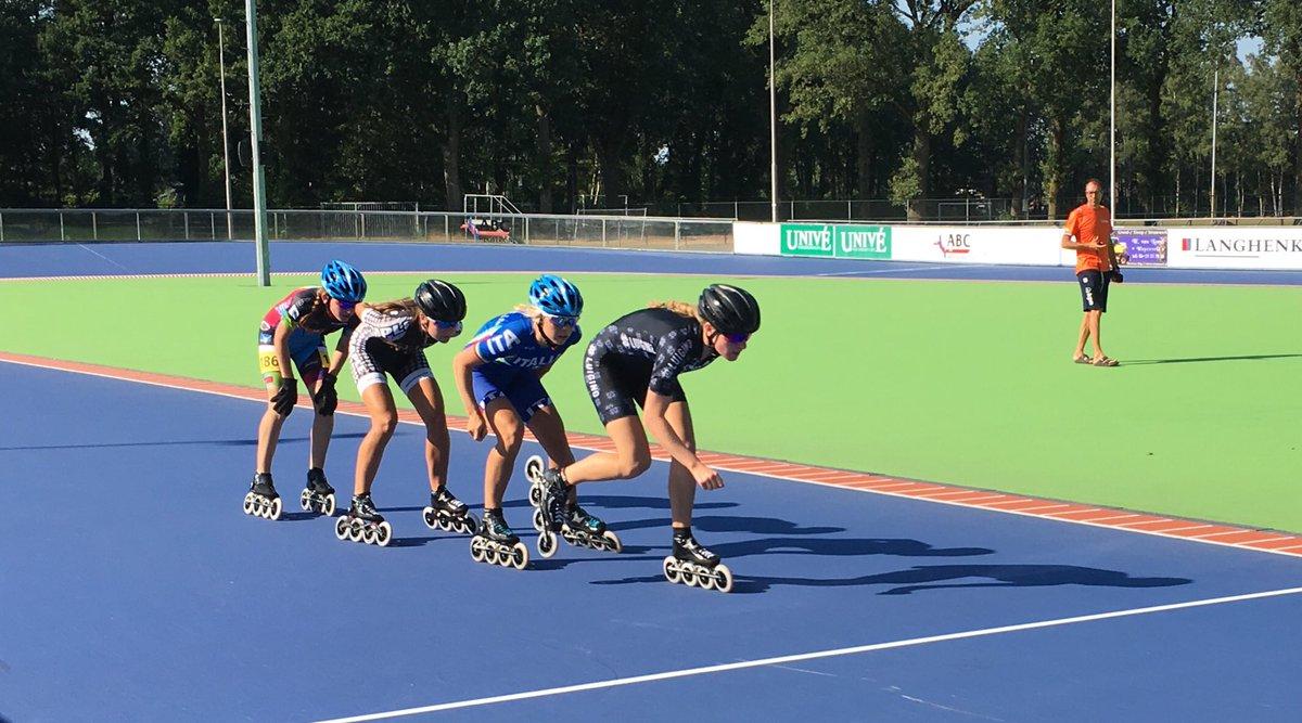0a65f517d4c ... Aires voor de Jeugd Olympische Spelen. Zondag bezocht ik onze zeilers  Laila & Bjarne in Medemblik, vandaag inline skaters Marit & Merijn in  Heerde.