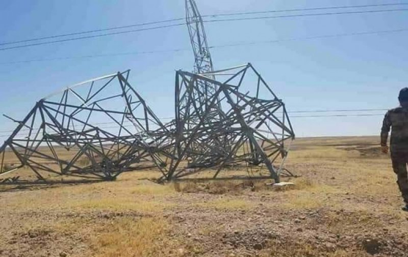 Two Electricity Towers Destroyed in Kirkuk - #BasNews https://t.co/uXDPSr4nO2