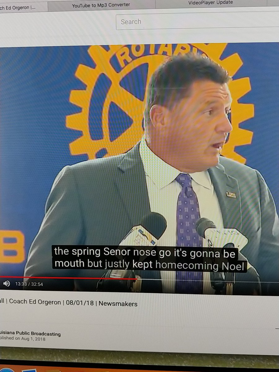 Look Closed Captioning Trying To Keep Up With Ed Orgeron
